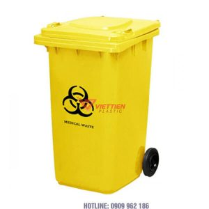 thùng rác y tế 240 lít