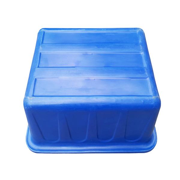 Mặt đáy thùng nhựa chữ nhật 200 lít