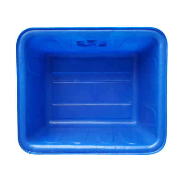 Mặt trong thùng nhựa chữ nhật 200 lít