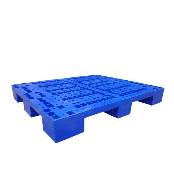 Pallet nhựa PL01LS màu xanh