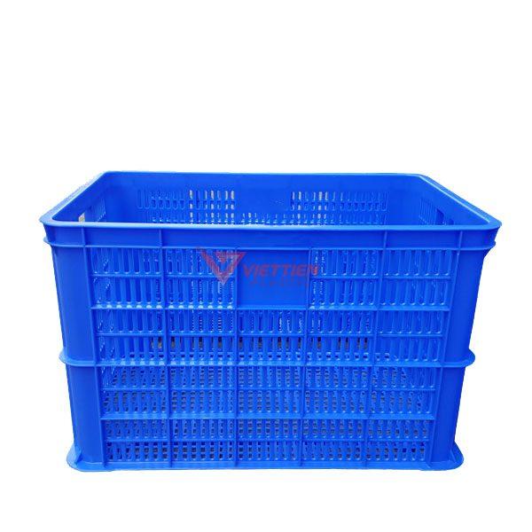 thùng nhựa rỗng hs005 cạnh dài