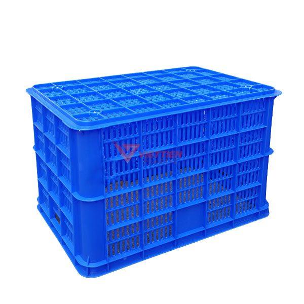 thùng nhựa rỗng hs005 mặt đáy