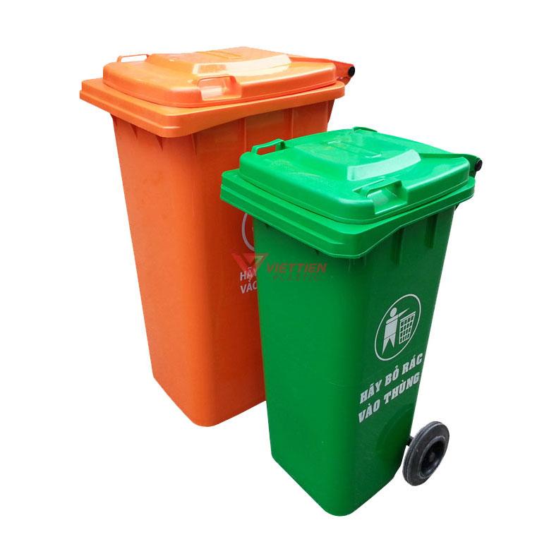 thùng rác 120 lít giá rẻ