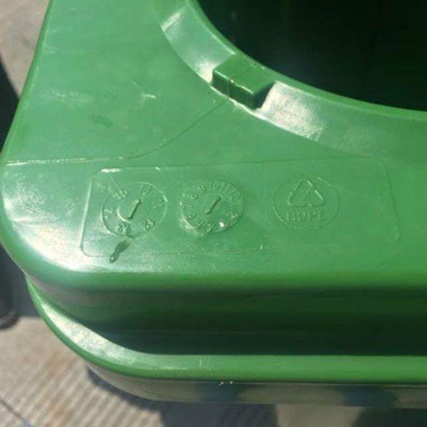 Thùng rác 660 lít HDPE chất lượng