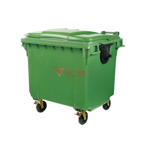 Thùng rác 660 lít HDPE giá rẻ nhất