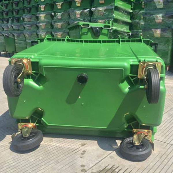 Thùng rác nhựa 660 lít HDPE tại tp HCM