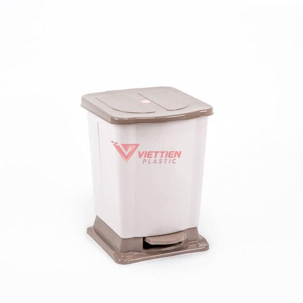 thùng rác 12 lít đạp chân giá rẻ