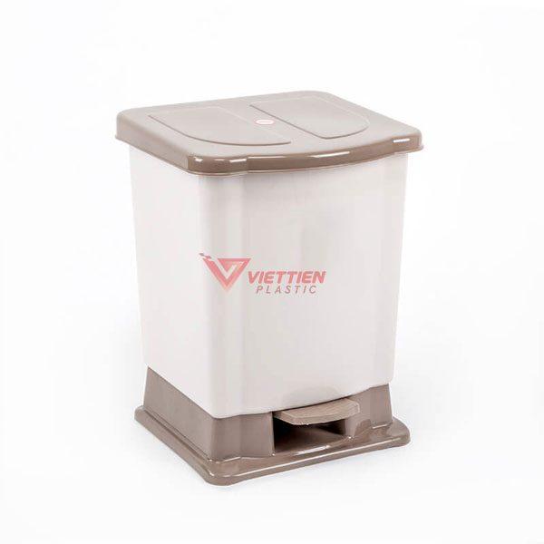 thùng rác 20 lít đạp chân giá rẻ nhất