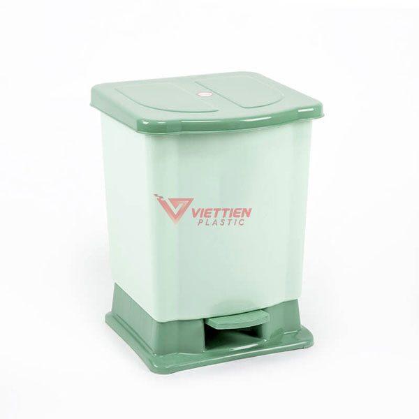 thùng rác 20 lít đạp chân hcm