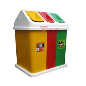 thùng rác 3 ngăn