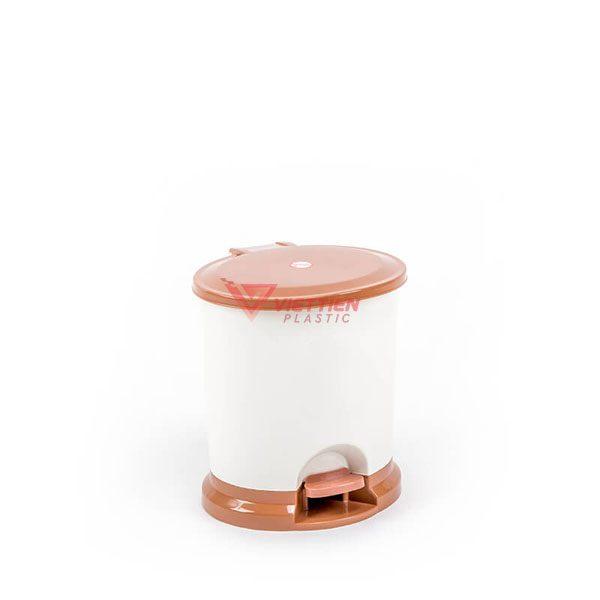 thùng rác 6.5 lít tròn hcm