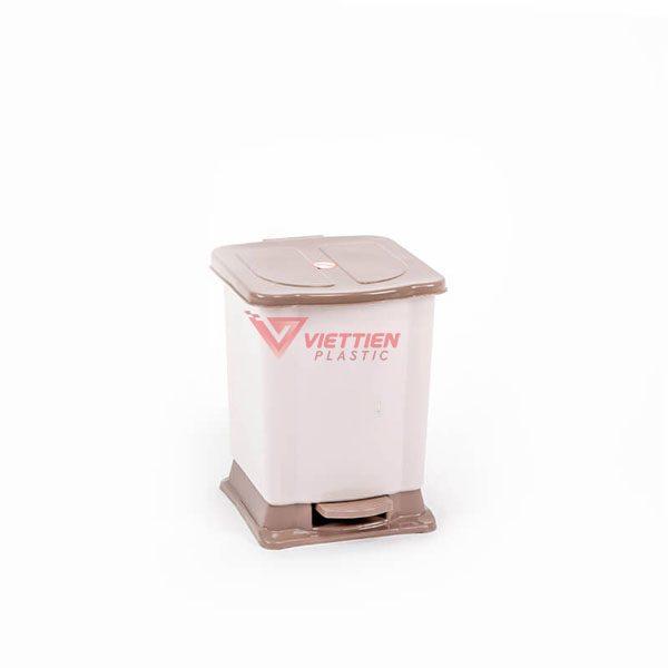 thùng rác 7 lít đạp chân giá rẻ