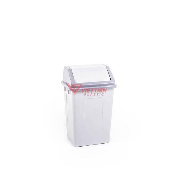 thùng rác nắp lật 22 lít giá rẻ