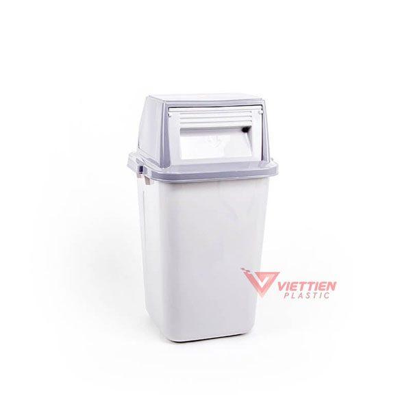 thùng rác nắp lật 42 lít HCM