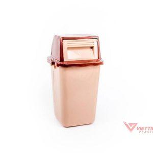 thùng rác nắp lật 42 lít giá rẻ nhất