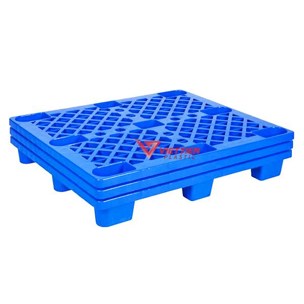 Pallet Nhựa Cốc PLC1210 xếp chồng