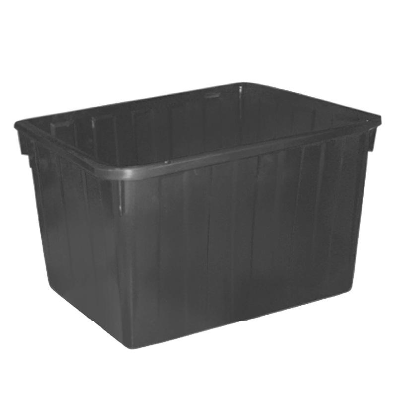 Thùng nhựa chữ nhật 160 lít màu đen