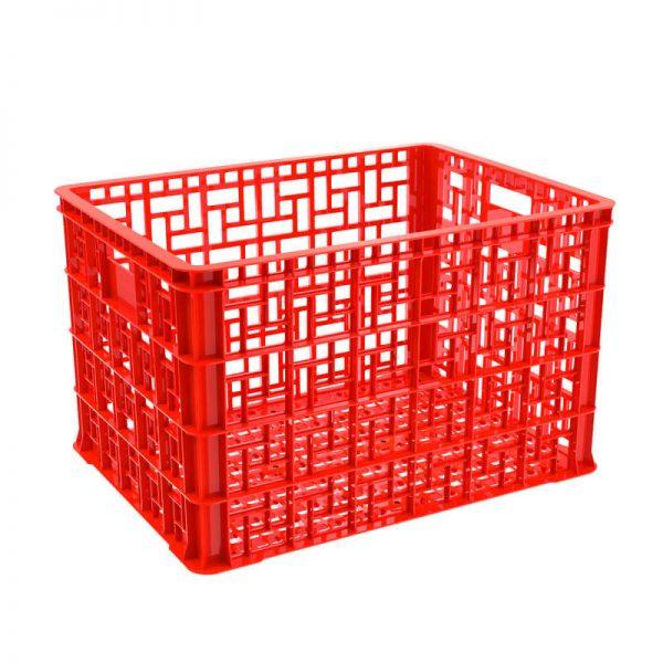 Thùng nhựa rỗng 5T4 màu đỏ