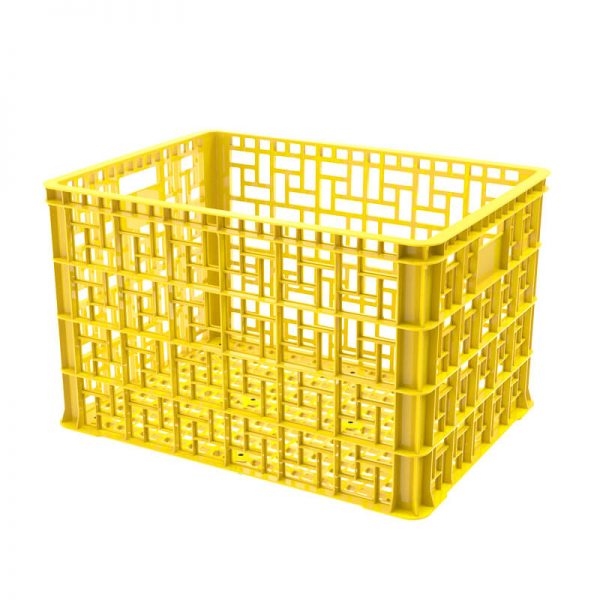 Thùng nhựa rỗng 5T4 màu vàng