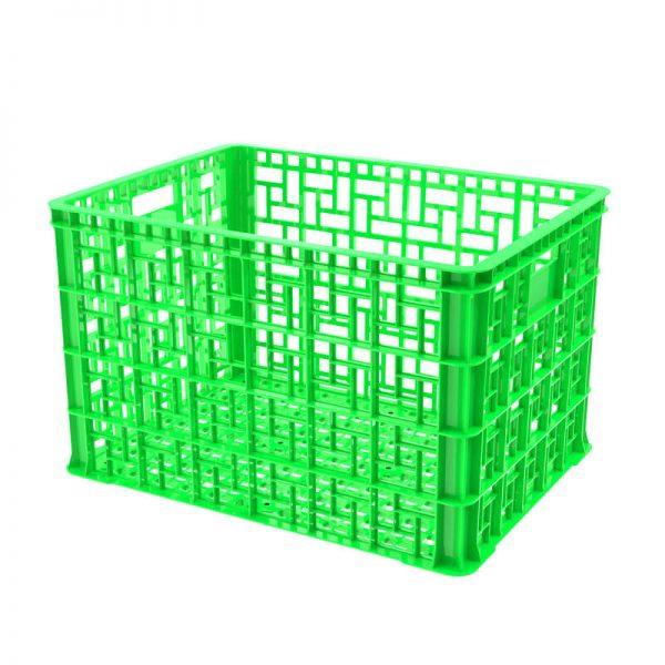Thùng nhựa rỗng 5T4 màu xanh lá