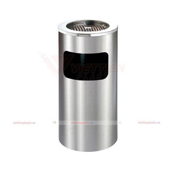 Thùng rác inox gạt tàn - VT01
