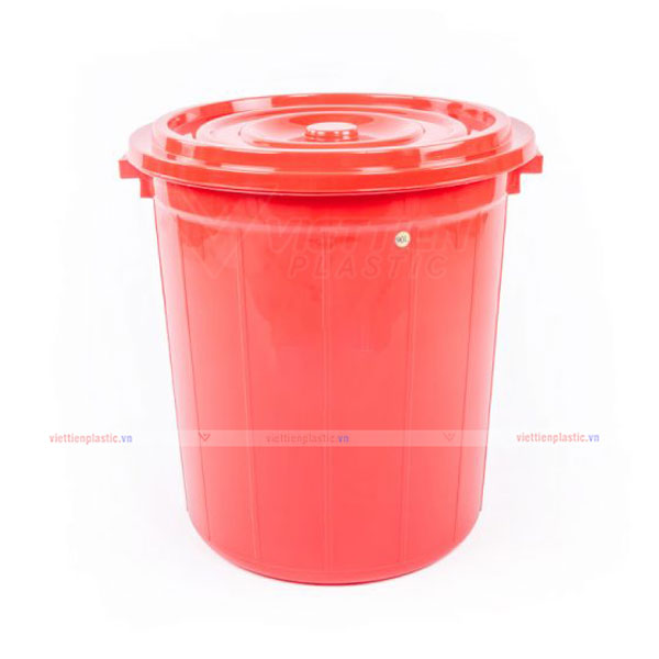 Thùng nhựa tròn 120 lít