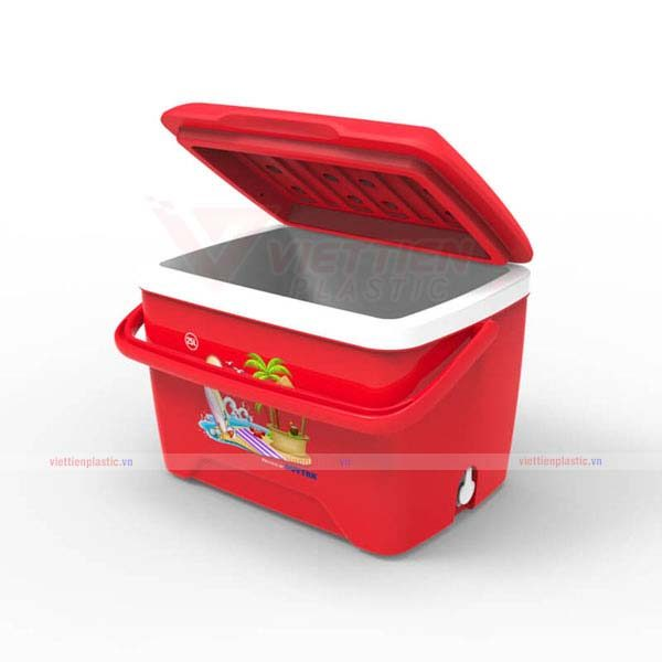 Thùng giữ lạnh 25 lít - đỏ