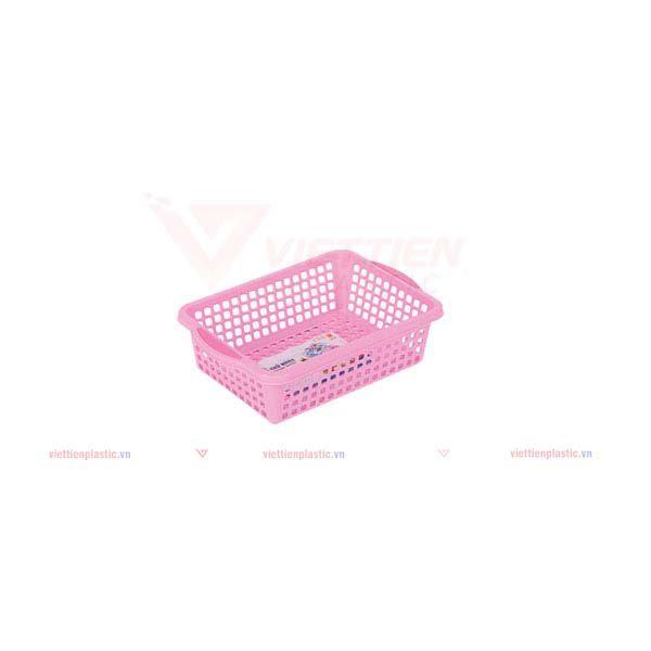rổ-chữ-nhật-1t7-màu-hồng