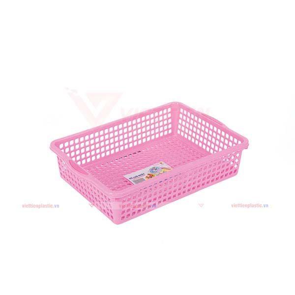 rổ-chữ-nhật-2t6-màu-hồng