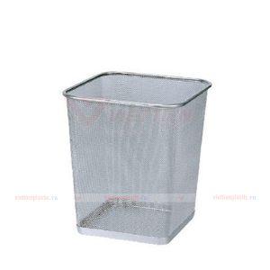 Sọt rác inox vuông dạng lưới