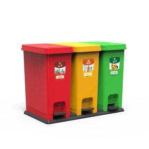 Thùng phân loại rác bộ 3