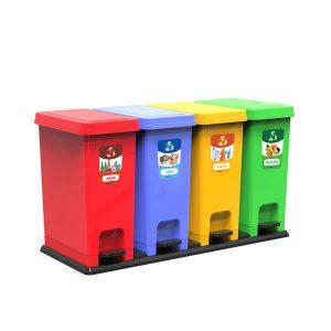 Thùng rác bộ 4