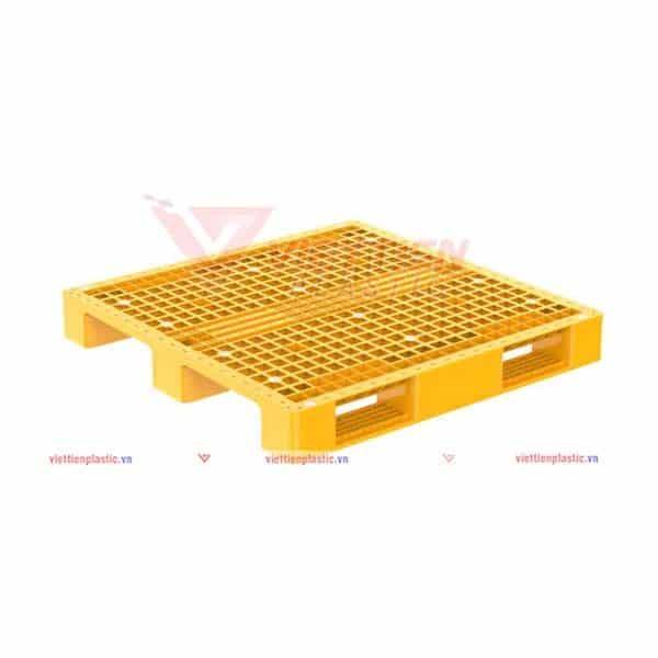 pallet nhua pl1092lk - vàng