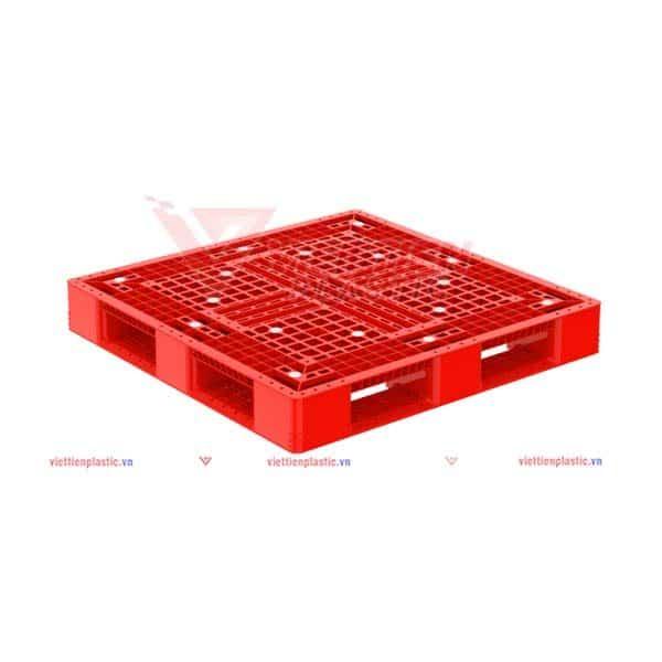 pallet nhua pl698lk - đỏ