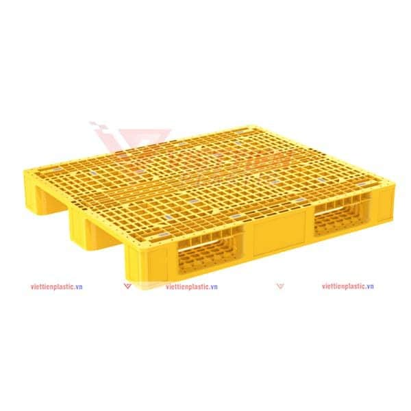 pallet nhựa pl1345lk - vàng