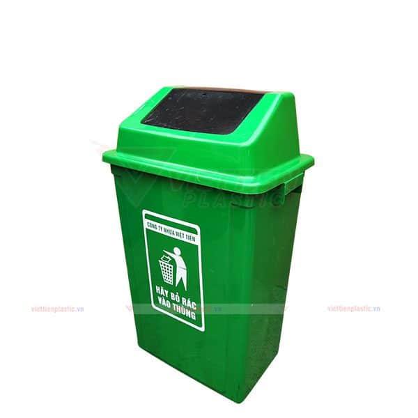 Thùng rác nắp lật dung tích 60 lít
