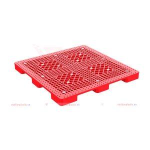 Pallet lót sàn 1276 đỏ